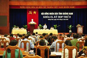 Quảng Nam: Lấy phiếu tín nhiệm 27 người giữ chức vụ do HĐND bầu