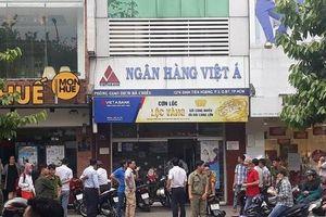 Đã xác định nghi can cướp ngân hàng VietABank