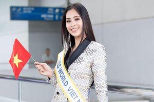 Phản ứng khác biệt của Tiểu Vy và người đẹp Philippines trước trận bán kết AFF Cup