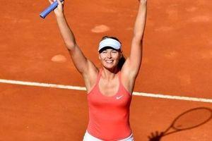 Hé lộ giải đất nện đầu tiên của Sharapova ở mùa giải 2019