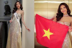 Minh Tú mặc áo dài khoe khéo body nữ thần, chúc mừng tuyển Việt Nam vào chung kết AFF Cup