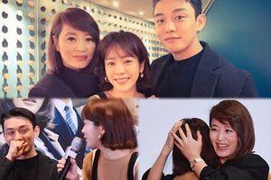 Sự kiện phim 'Default': Han Ji Min bí mật xuất hiện khiến Yoo Ah In ngại ngùng, Kim Hye Soo ôm chầm vì hạnh phúc