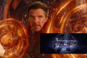 'Avengers 4: Endgame': Hóa ra Doctor Strange đã từng tiết lộ tựa phim ngay trong 'Infinity War'