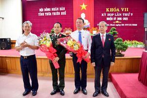 Ông Phan Thiên Định được bầu làm Phó Chủ tịch UBND tỉnh Thừa Thiên Huế