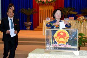 HĐND tỉnh Yên Bái công bố kết quả lấy phiếu tín nhiệm