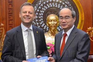 TP Hồ Chí Minh kêu gọi các doanh nghiệp Đức đến tìm kiếm cơ hội đầu tư