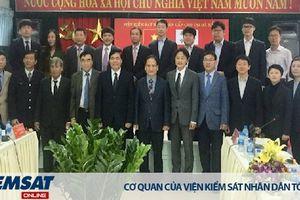 Đoàn công tác Học viện Tư Pháp Hàn Quốc thăm và học hỏi kinh nghiệm tại Viện kiểm sát cấp cao 2