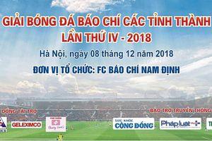 Sắp diễn ra Giải bóng đá Báo chí các tỉnh thành lần thứ IV