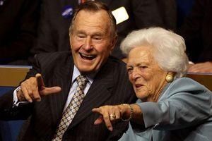 Cảm động tình yêu 'chết không chia lìa' của vợ chồng cố Tổng thống Bush 'cha'