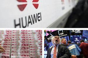 Chứng khoán lao dốc, nhân dân tệ mất giá sau khi 'sếp' Huawei bị bắt
