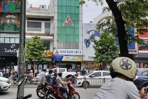 Vụ cướp ngân hàng ở TPHCM: Ngân hành VietABank thông tin chính thức