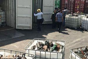 Doanh nghiệp nhập 20 container rác thải công nghiệp đã bỏ trốn