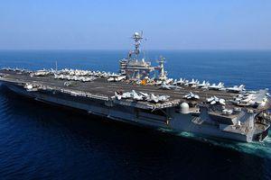 Căng thẳng với Iran, Hải quân Mỹ triển khai siêu tàu sân bay tới Trung Đông