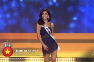 Ngắm nhìn Minh Tú nóng bỏng thi bikini tại Miss Supranational 2018