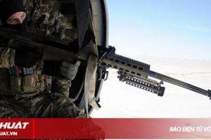 Bắn tỉa từ trực thăng – kỹ năng có một không hai của Tuần duyên Mỹ