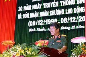 Binh đoàn 16 đón nhận Huân chương lao động hạng Nhất