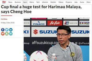 Báo Malaysia 'dọa dẫm' đội tuyển Việt Nam trước trận chung kết lượt đi