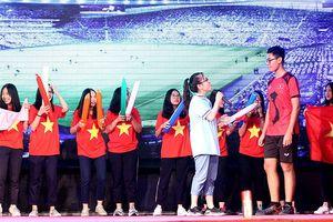 'Phóng viên thể thao quốc tế' nhất cuộc thi Ước mơ của tôi