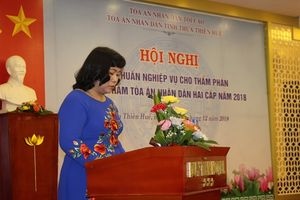 TAND tỉnh TT-Huế tập huấn nghiệp vụ Thẩm phán và Hội thẩm TAND hai cấp