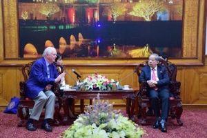 Giám đốc chương trình Việt Nam tại Đại học Harvard làm việc với lãnh đạo tỉnh Thừa Thiên Huế