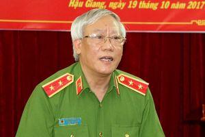 Kỷ luật cảnh cáo nguyên Phó Tổng cục trưởng Tổng cục Cảnh sát