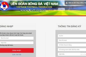 Vé bán online trận chung kết lượt về AFF Cup 2018 giữa Việt Nam và Malaysia sẽ được chia thành nhiều đợt