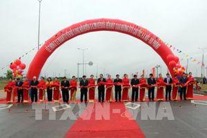 Thông xe đoạn tuyến nối đường 62m với cao tốc Hà Nội – Hải Phòng