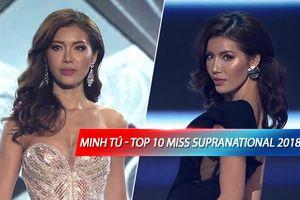 SỐC NẶNG: Minh Tú dừng chân tại Top 10, Pueto Rico đăng quang Miss Supranational 2018