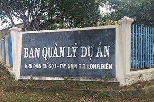 Bà Rịa – Vũng Tàu: Giải pháp để phát triển cho dự án KDC Tây Nam số 1