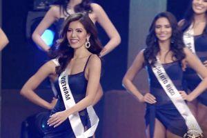 2 lần vào Top 10 trong đêm chung kết, Minh Tú vẫn trượt ngôi vị Hoa hậu Siêu quốc gia 2018