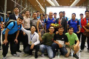Những hình ảnh đầu tiên của đội tuyển Việt Nam tại Malaysia