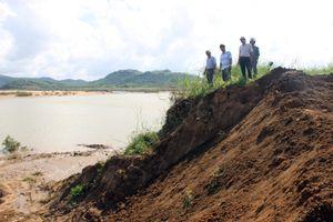 Phú Yên: Khẩn trương khắc phục sự cố sạt lở kênh chính Nam