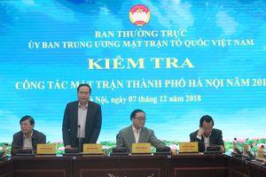 Triển khai nghiêm túc chuẩn bị Đại hội MTTQ Việt Nam các cấp nhiệm kỳ 2019-2024