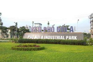 Vốn đầu tư nước ngoài vào các khu công nghiệp tỉnh Hưng Yên tăng vọt