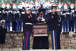 Cận cảnh lễ an táng cố Tổng thống George H.W. Bush