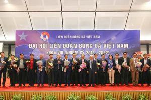 Toàn cảnh Đại hội Liên đoàn bóng đá Việt Nam khóa VIII