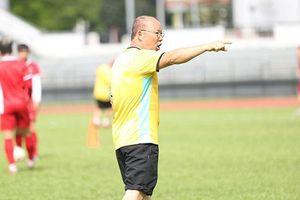 HLV Park Hang-seo trầm tư trước trận chung kết AFF Cup lượt đi