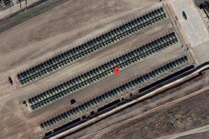 Nga để lộ bí mật triển khai xe tăng sát biên giới Ukraine vì ảnh vệ tinh