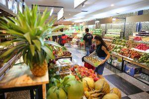 VECIC tổ chức chợ phiên nông sản sạch