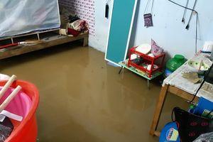 Đà Nẵng không ngừng mưa, nhiều xóm trọ chìm trong nước