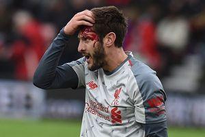 Adam Lallana đổ máu trong ngày Liverpool lên đầu bảng Ngoại hạng Anh