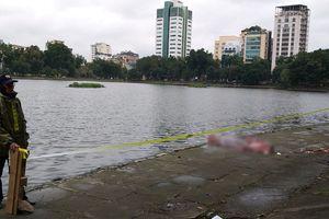 Thi thể người đàn ông nổi giữa hồ Thiền Quang ngày mưa rét