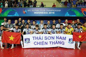 Thái Sơn Nam lọt top ứng viên câu lạc bộ hay nhất thế giới
