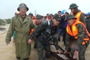 LLVT tỉnh Quảng Trị tổ chức cứu hộ nhân dân trong mưa lũ