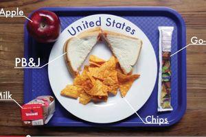 Bữa ăn học đường trên thế giới