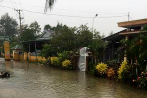 Mưa lớn gây ngập lụt nhiều nơi tại Quảng Trị