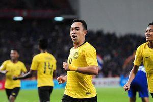 Chân sút Malaysia tuyên bố có cách phá hàng thủ tuyển Việt Nam