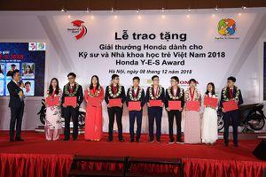 Honda Việt Nam trao tặng Giải thưởng Honda Y-E-S lần thứ 13