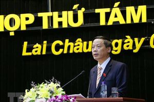 Lai Châu công bố kết quả lấy phiếu tín nhiệm các chức danh lãnh đạo