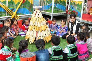 Tăng cường dạy tiếng Việt cho học sinh vùng dân tộc thiểu số